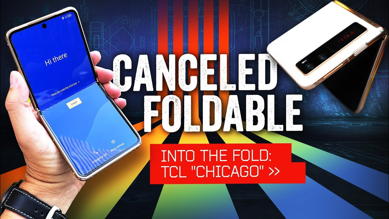 TCL was making a Samsung Galaxy Z Flip competitor, but now has to start over